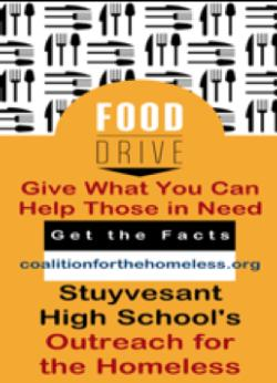 Food Drive! Donate until 12/16/19