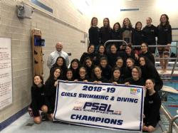 Girls Swimming and Diving Tryouts 2019