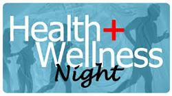 WELLNESS NIGHT at the PA General Meeting